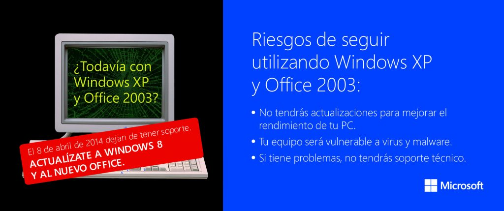 Fin de vida de Windows XP